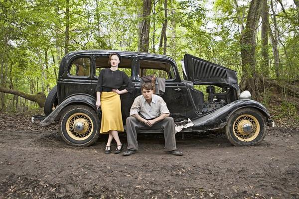 "Holliday Grainger and Emile Hirsch star in the miniseries ""Bonnie & Clyde."""