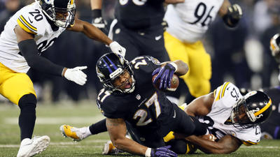 Missed tackles have been few and far between for Ray Rice and R…
