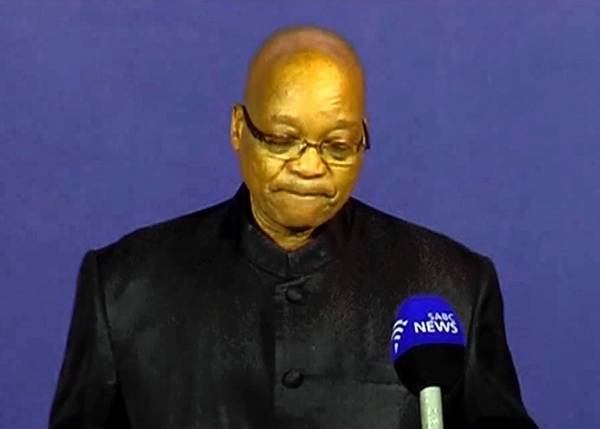 South African president announces Ne