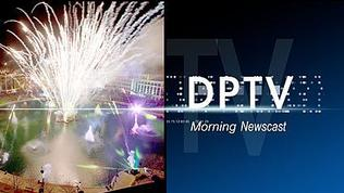 STUFF THE BUS DONATION, WOUNDED VET GETS NEW HOME, HOLLY DAZZLE, BURNING LEAVES, NELSON MANDELA, INSIDE DPTV