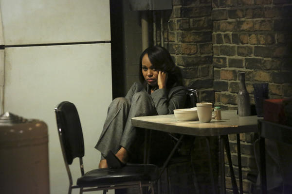 "Kerry Washington in a scene from ABC's ""Scandal."""