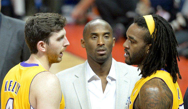 Ryan Kelly, Kobe Bryant, Jordan Hill