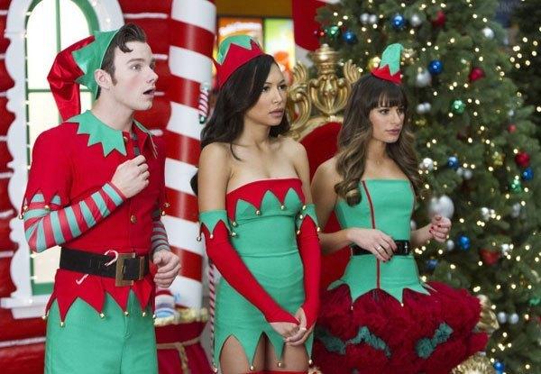 glee recap previously unaired christmas baltimore sun - Glee Previously Unaired Christmas