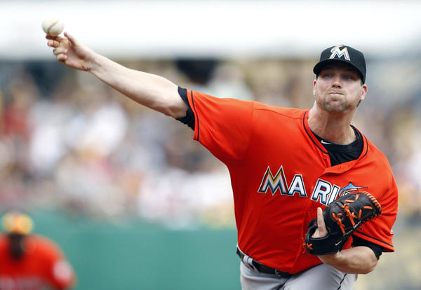 Ryan Webb has been an effective reliever for the Miami Marlins.
