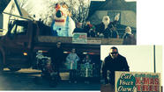 Cal & Shan's Christmas Tree Farm joins Woodstock Christmas Parade