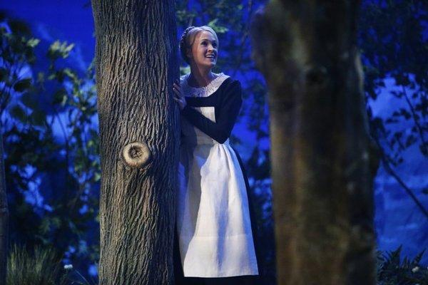 "Carrie Underwood as Maria von Trapp in ""The Sound of Music Live,"" which aired Thursday on NBC."