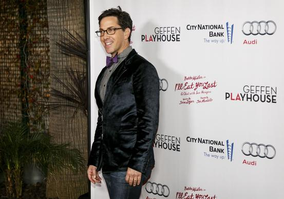 "Actor Dan Bucatinsky arrives for the opening performance of ""I'll Eat You Last: A Chat With Sue Mengers,"" starring Bette Midler, at the Geffen Playhouse in Westwood on Thursday night."