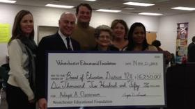 Westchester Educational Foundation Makes First Gift to Westchester Schools