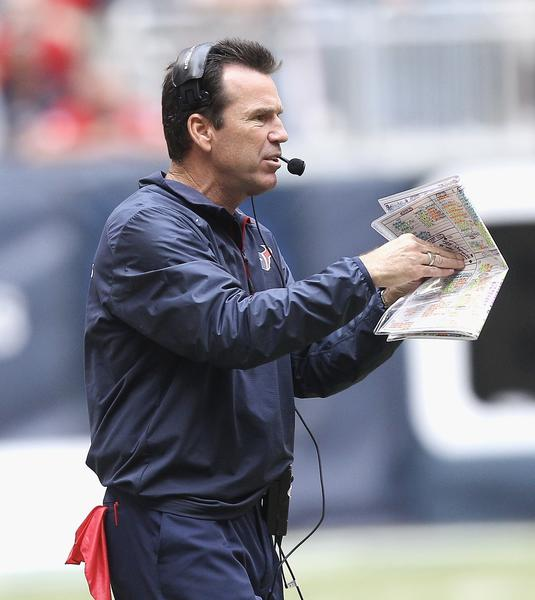 Houston Texans Friday fired head coach Gary Kubiak.