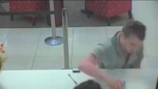 Surveillance video: Oops! Accused bank robber left ID at scene of crime