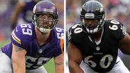 Mike Preston's key matchups for Vikings at Ravens