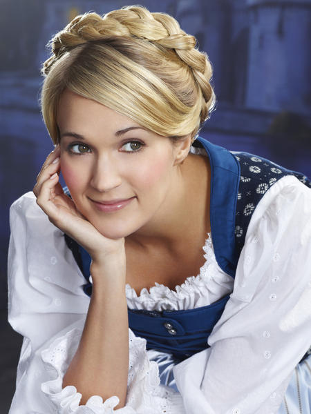 "Carrie Underwood as Maria in NBC's ""The Sound of Music Live."""