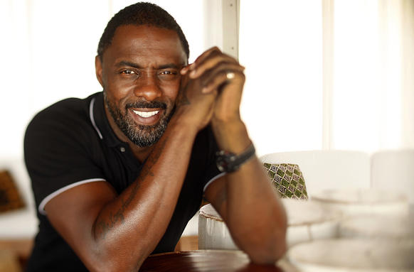"Actor Idrissa ""Idris"" Elba, who has worked in television, theater and film, at the Mondrian Hotel in West Hollywood. Elba talks about his latest role in ""Mandela: Long Walk to Freedom,"" where the actor plays the legendary yo"