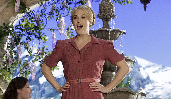 "Carrie Underwood stars in ""The Sound of Music."""