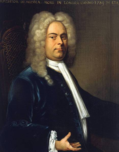 a biography of the life and influence of geog friedrich handel in music composition
