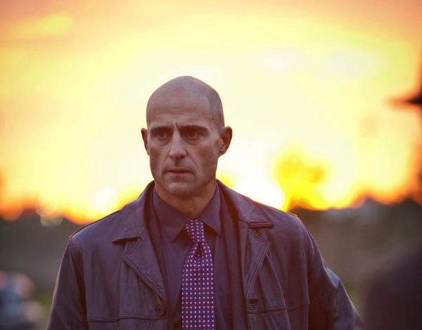 "Mark Strong starred in ""Low Winter Sun"" on AMC."