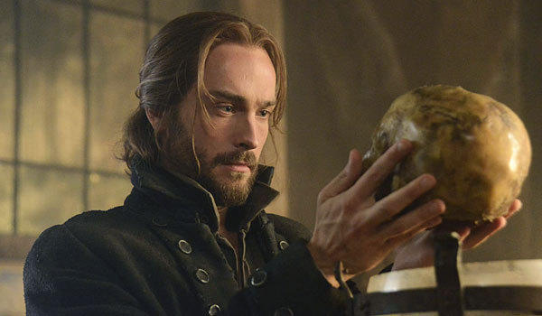 "Tom Mison plays Ichabod Crane in ""Sleepy Hollow."""