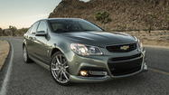Chevy SS and Corvette Stingray Convertible bolster brand's lineup