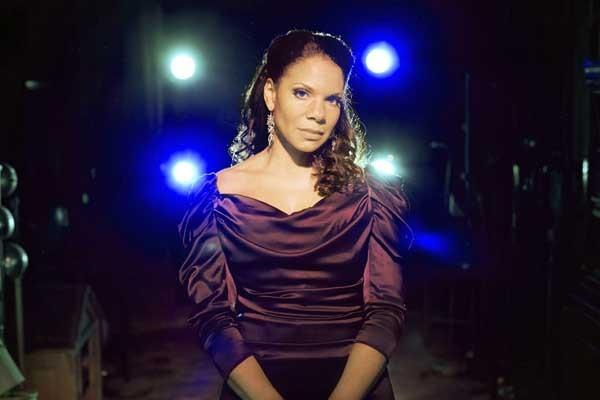 "Singer Audra McDonald performs in the documentary ""Six by Sondheim"" on HBO."