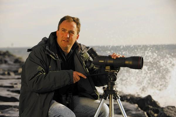 Celebrity birder Richard Crossley