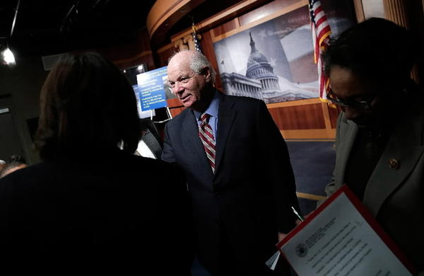 Sen. Ben Cardin, D-Md., on Capitol Hill.