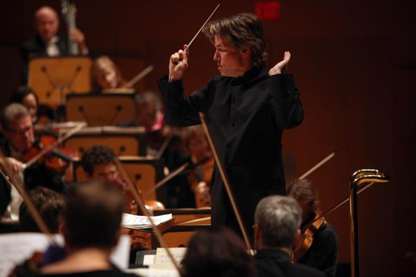 Esa-Pekka Salonen conducts Lutoslawski's Third Symphony with the Los Angeles Philharmonic in November 2012.