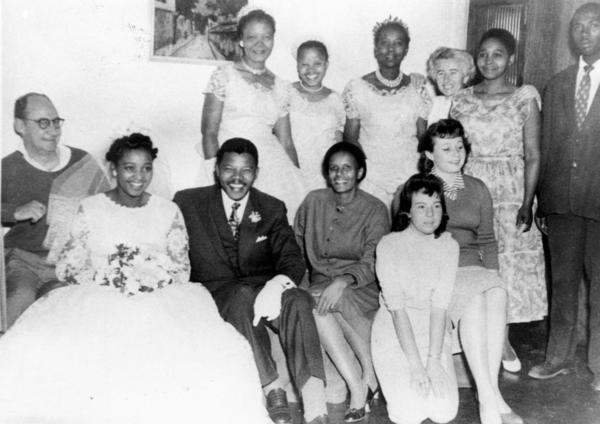 Nelson Mandela's wedding