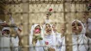 Sentences reduced for 14 female protesters in Egypt