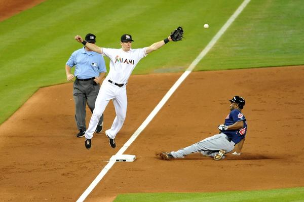 Upgrading at third base is the Miami Marlins' priority heading into the Winter Meetings Monday in Orlando.