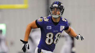 Dennis Pitta activated from injured reserve-designated to return, expected to play Sunday