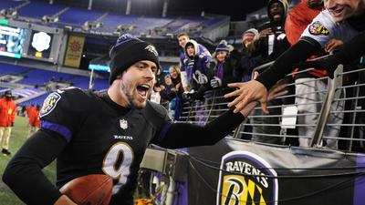 Now a can't-miss kicker, Ravens' Justin Tucker was overlooked by all of NFL in 2012 draft