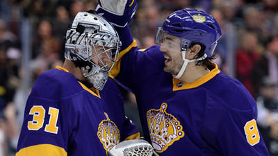 Martin Jones gets shutout in second start for Kings