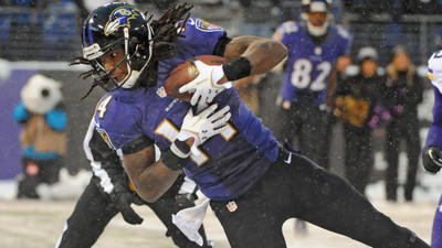 In crazy finish, Ravens come back to beat Vikings, 29-26, in the snow