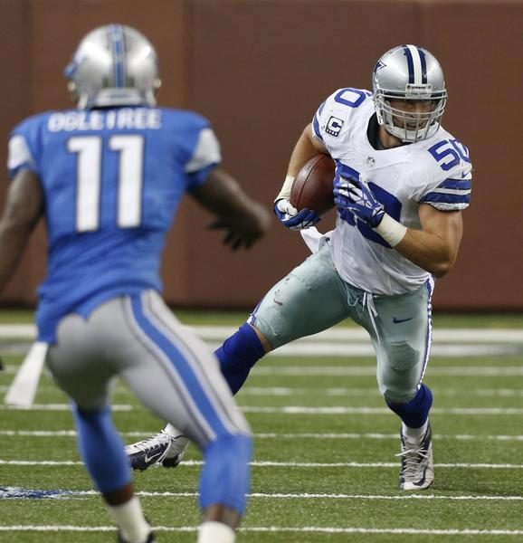 Sean Lee will return to the lineup for the Cowboys Monday after missing the previous two games with a pulled left hamstring.