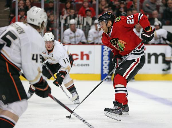 Kris Versteeg still isn't sure why he was traded from the Panthers back to the Blackhawks.
