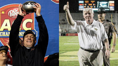 FSU's Fisher, UCF's O'Leary have gone from coaching hotseat to BCS throne