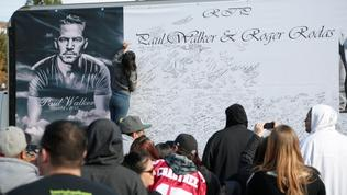 Paul Walker fans and car enthusiasts rally at Valencia crash site