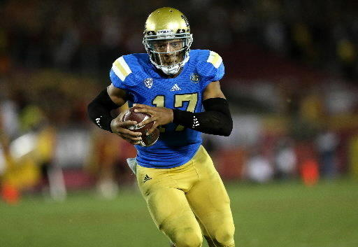 UCLA and quarterback Brett Hundley face Virginia Tech in Sun Bowl.