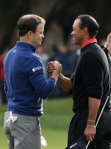 Zach Johnson, Tiger Woods