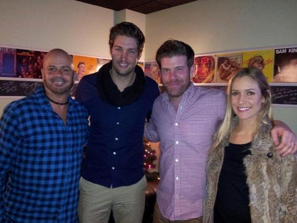 Jay Cutler and Kristin Cavalla