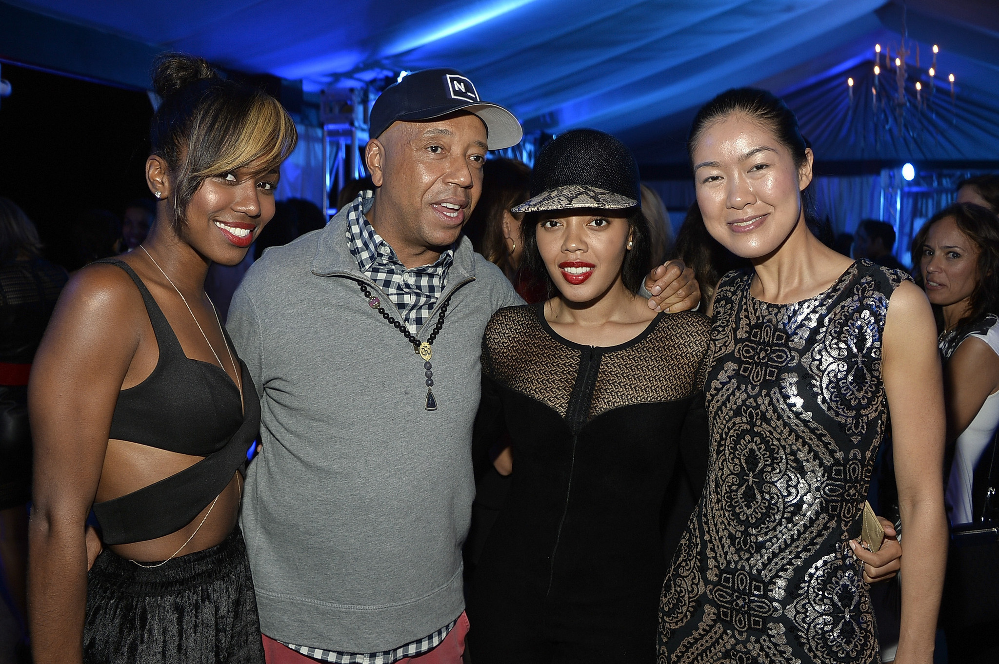 PHOTOS: Artists, celebs at Art Basel - Bombay Sapphire Artisan Series Finale Dinner Hosted By Russell Simmons And Tom Colicchio At Soho Beach House In Miami