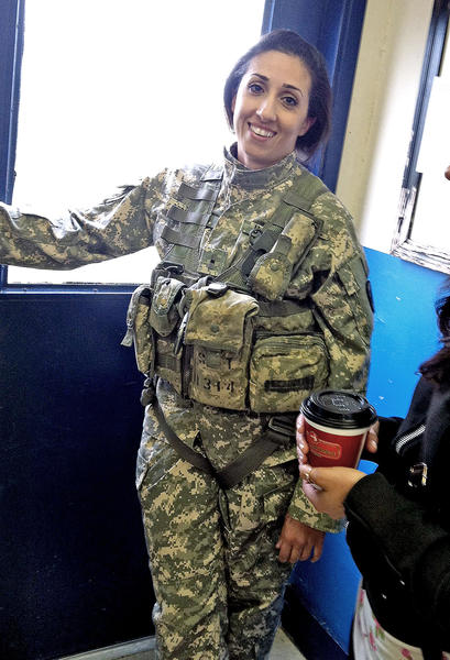 "Meghedie ""Meg"" Dersarkissian will graduate as a Black Hawk pilot on Dec. 19, 2013."
