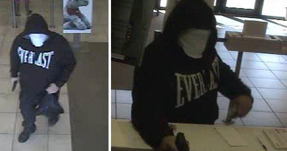 The FBI released surveillance images of the person the agency says robbed the Wells Fargo Bank branch at 5830 S. University Drive in Davie on Monday, Dec. 9, 2013.
