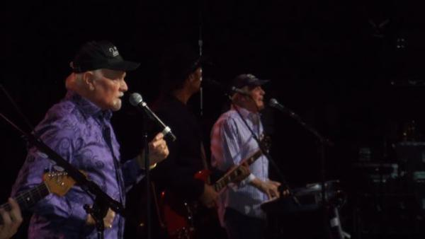 The Beach Boys perform for the first time at the Segerstrom Center for the Arts on Saturday.