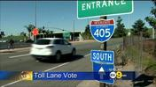 OC Transportation Board Votes Against Addition Of New 405 Freeway Toll Lanes