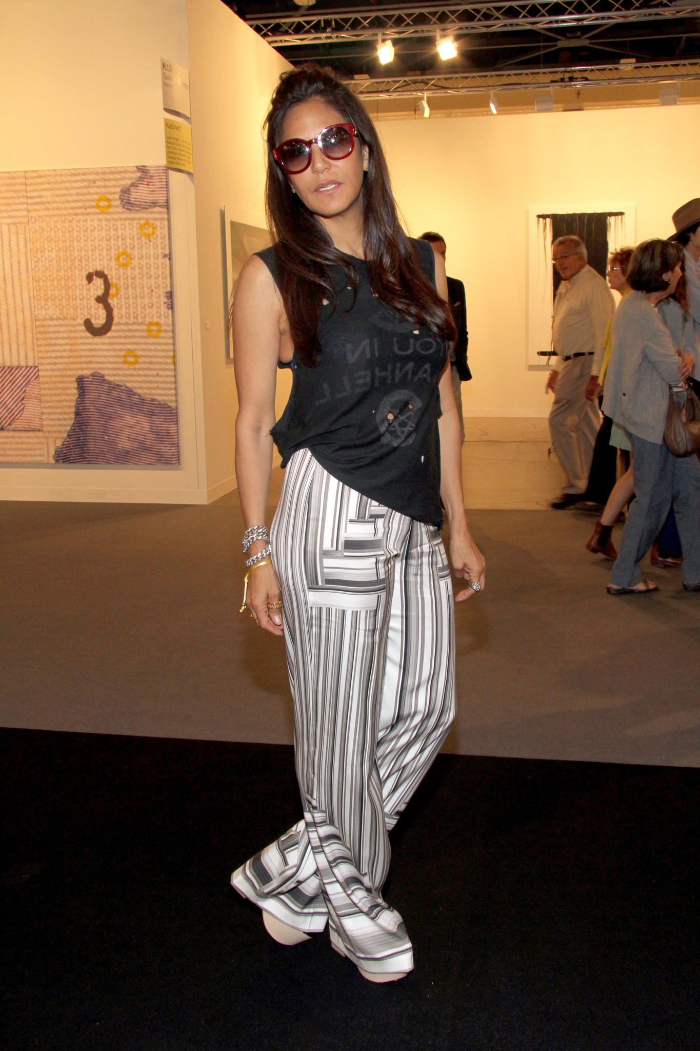 PHOTOS: The fashionistas of Art Basel - Art Basel Miami Beach 2013 - Day 2