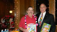 Villa Park Lions Donate Toys and Books to York Township Families