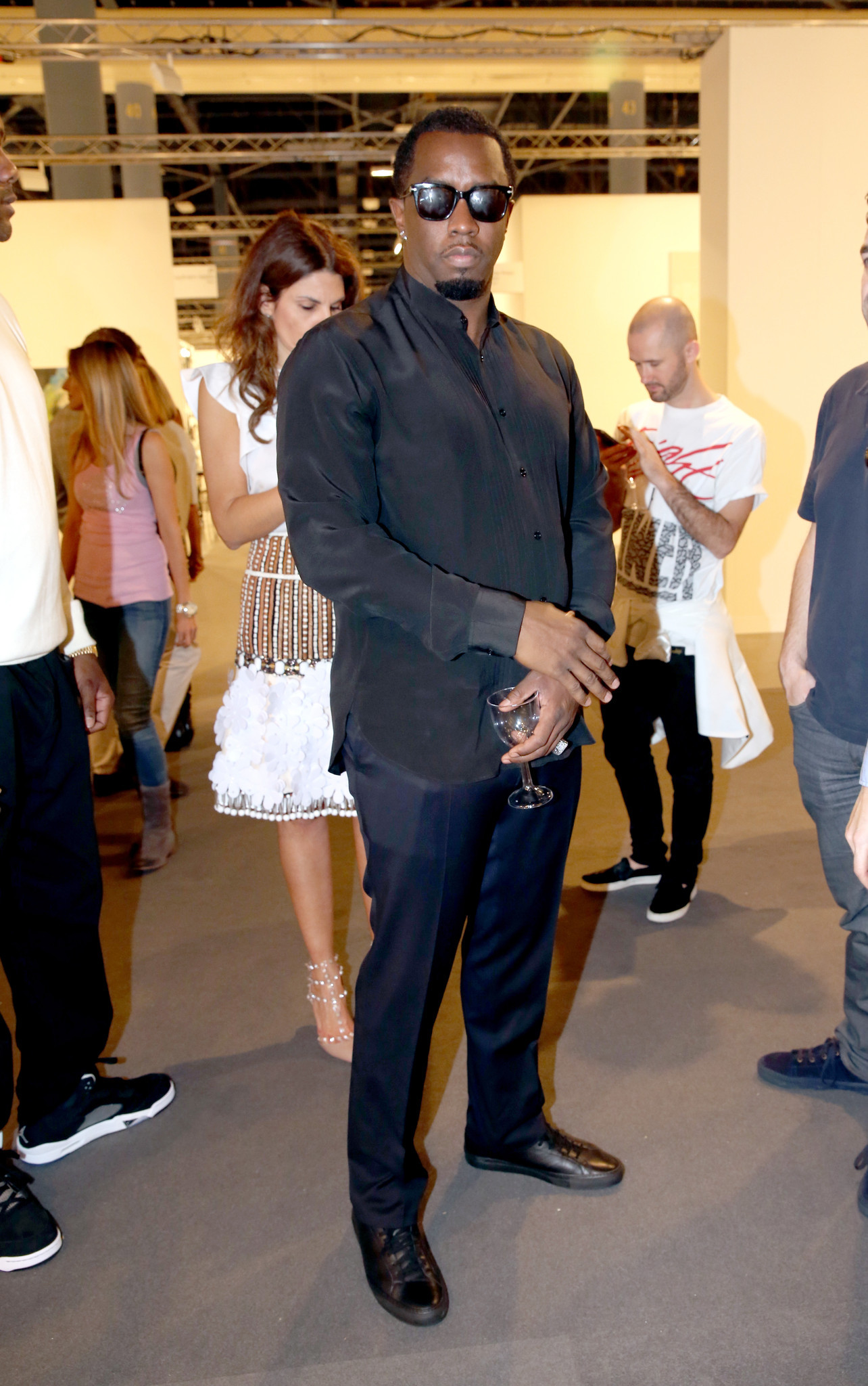 PHOTOS: Artists, celebs at Art Basel - Art Basel Miami Beach 2013 - Day 1
