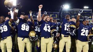 Navy football looking to extend winning streak to 12 vs. Army