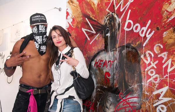 PHOTOS: The fashionistas of Art Basel - House of Art during Art Basel in the Design District in Miami on Dec. 5th